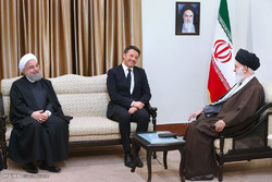 Leader receives Italian PM on Tue.
