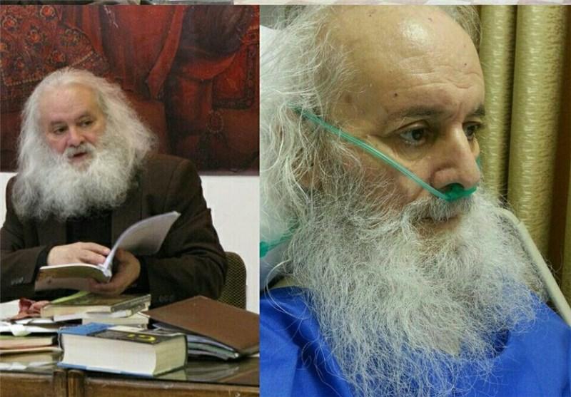 پدر تعزیه ایران در بستر بیماری