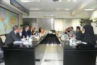 Afkhamirad discusses issues of mutual interest with the Netherlands DyFM