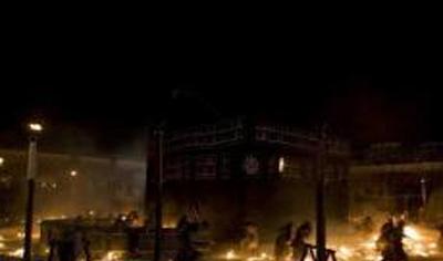 وقتی خانه خدا آتش گرفت
