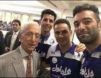 Professor Samii goes to Azadi stadium to watch Red-Blue derby match