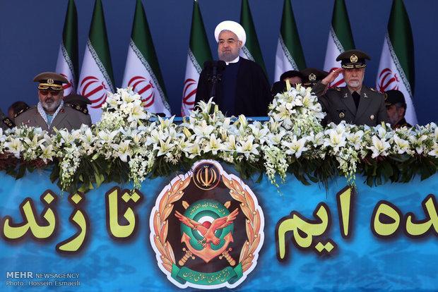 Iran's army wards off greed, malice of 'arrogant regional powers'