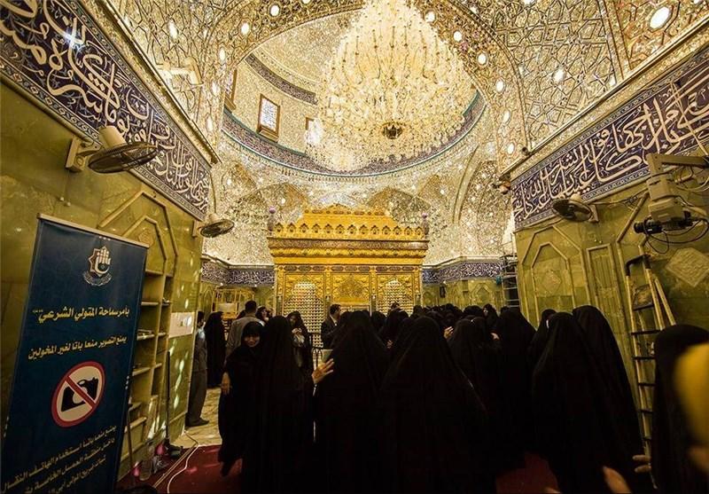 حرم مطهر حضرت عباس(ع) بازگشائی شد+تصاویر