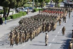 Iran Army Day parade in Shahreza