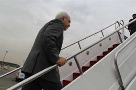 Zarif off to New York for UN event