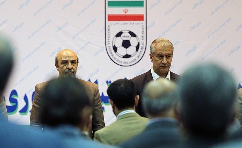 گلایه گودرزی در جلسه با اعضای هیئت رئیسه فدراسیون فوتبال/ تأکید بر برگزاری انتخابات با اساسنامه سال ۹۰