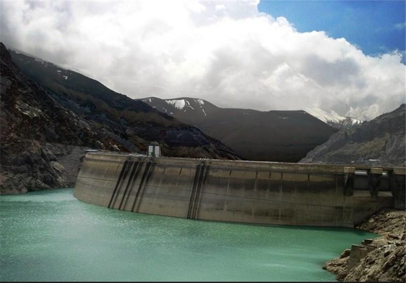 ذخیر آب در پشت سد کرج به مرز ۸۰ درصدی رسید