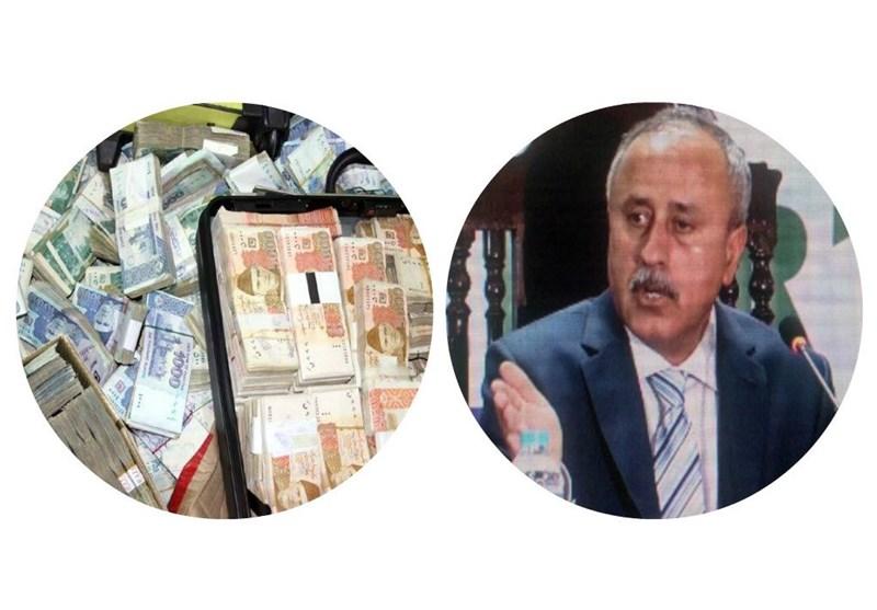 کشف بیش از ۷ میلیون دلار در منزل وزیر دارایی ایالت بلوچستان پاکستان + تصاویر