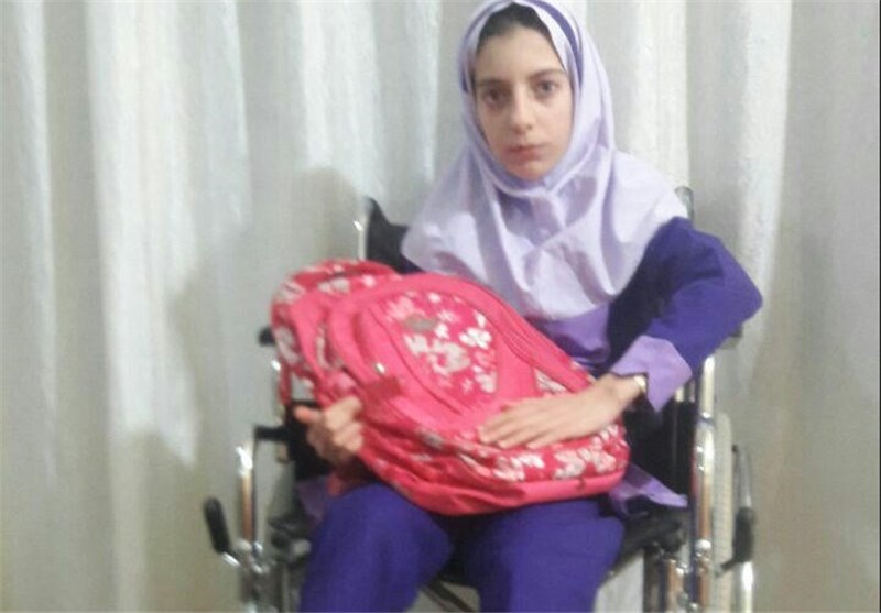 روزهای سخت خانهنشینی خاطره/ دختر ۱۲ ساله دلفانی قربانی عمل اشتباه پزشک+ عکس