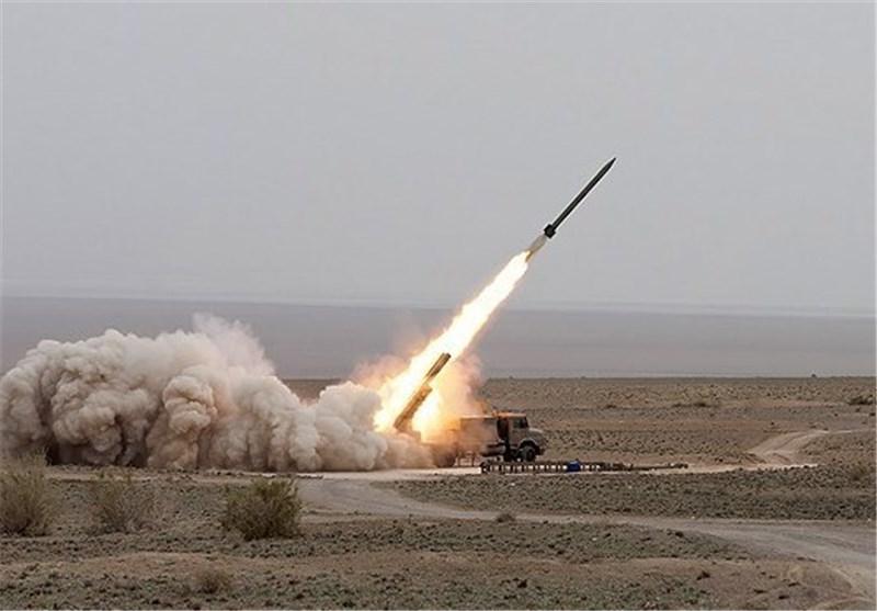 شلیک ۲ فروند موشک نازعات۱۰ در رزمایش حیدر کرار نزاجا