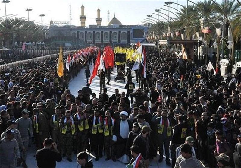 مشارکت ۱۰ هزار نیروی داوطلب مردمی عراق در تامین امنیت مراسم نیمه شعبان