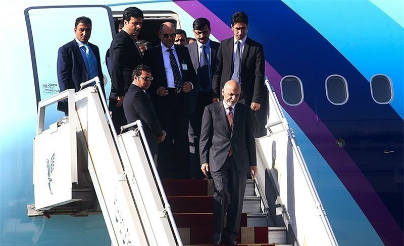 رئیس جمهور افغانستان وارد تهران شد