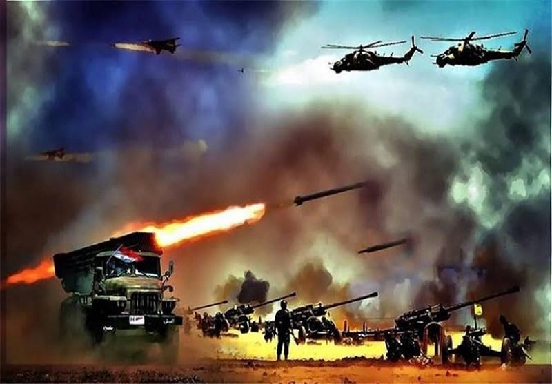 تداوم درگیری بین تروریستها در مناطق مختلف/ هلاکت ۲۵ تروریست النصره در حومه حمص