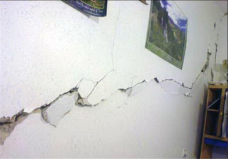 زلزله بجنورد به برخی از منازل روستایی خسارت وارد کرد