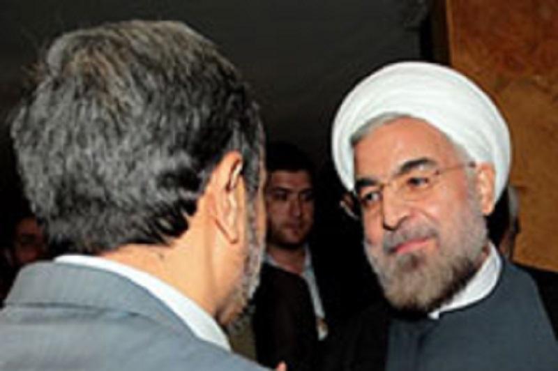 نیاز احمدی نژاد به روحانی و روحانی به احمدی نژاد!