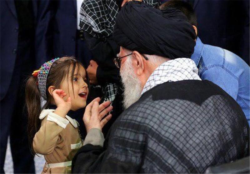 ماجرای گفتگوی جالب «نهال»، دختر شهید مدافع حرم با رهبر انقلاب