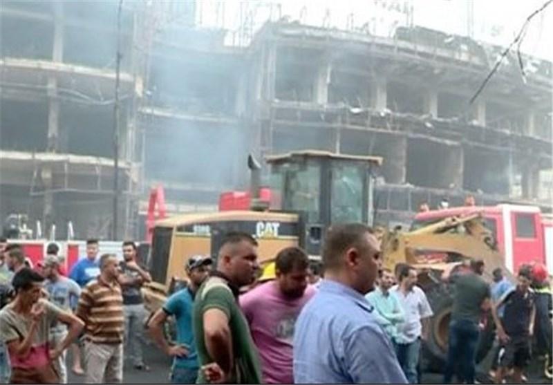 انفجار مجدد در منطقه الکراده بغداد