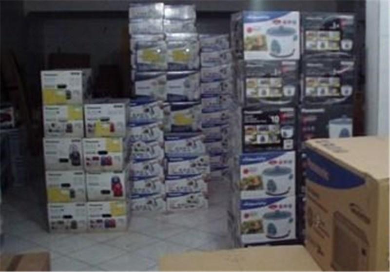 کشف ۹ انبار بزرگ لوازم خانگی قاچاق در تهران و کرج/ قاچاق برند معروف چینی