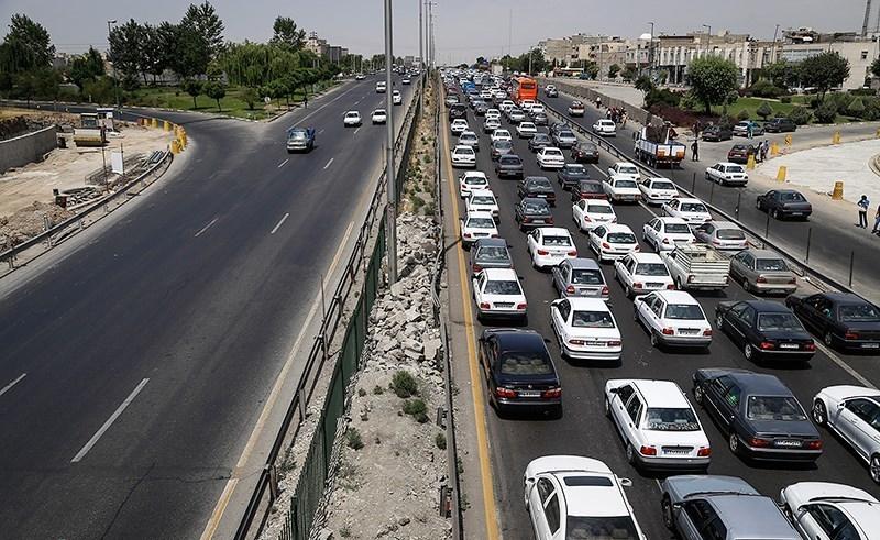 تمدید محدودیتهای ترافیکی محورهای مازندران تا فرداصبح/ ترافیک نیمهسنگین در محورهای منتهی به تهران