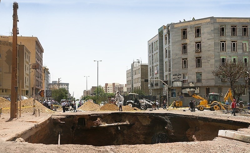 نشست مجدد زمین در شهران صحت ندارد/جریان گاز موقتا قطع میشود