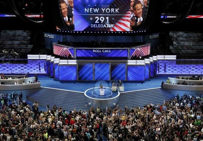 کلینتون رسماً نامزد دموکراتها در انتخابات ریاستجمهوری معرفی شد