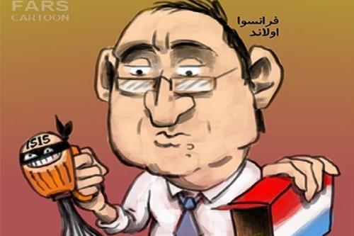 کاریکاتور: تداوم پروژه اسلام هراسی در فرانسه!