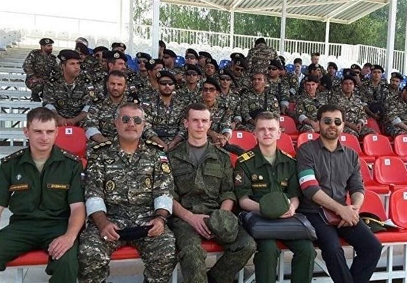 تصاویر جدید از حضور تکاوران ارتش و سپاه در روسیه