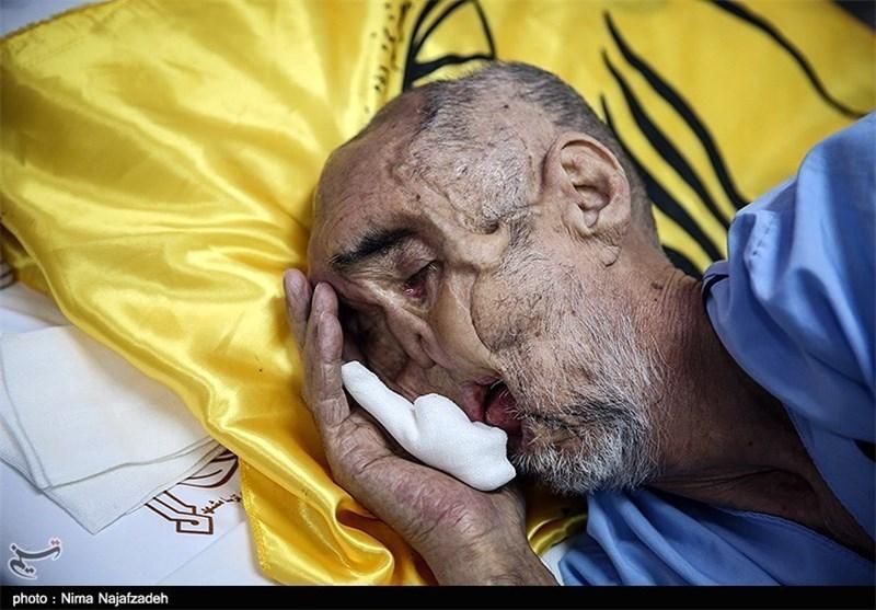 حاج رجب محمدزاده دقایقی پیش به جمع یاران شهیدش پیوست