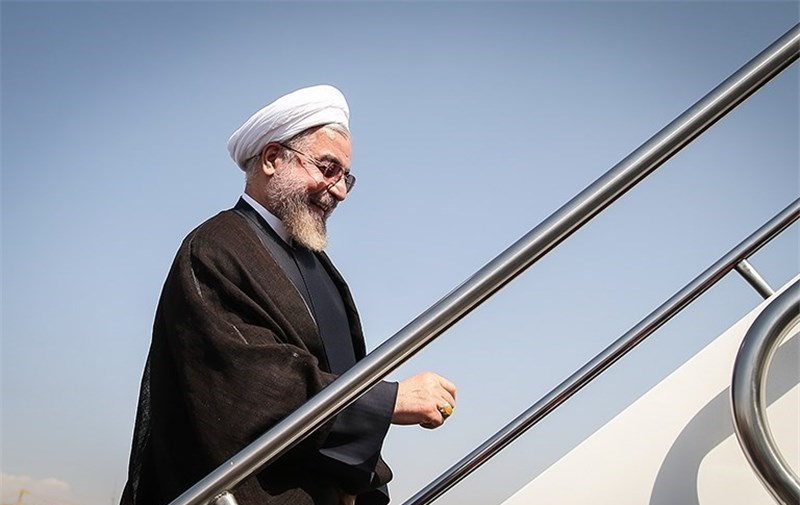 روحانی عازم جمهوری آذربایجان شد
