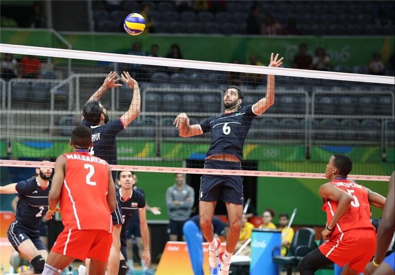 کسب اولین پیروزی والیبال ایران در تاریخ المپیک/ ایران با غلبه بر کوبا امیدوار شد