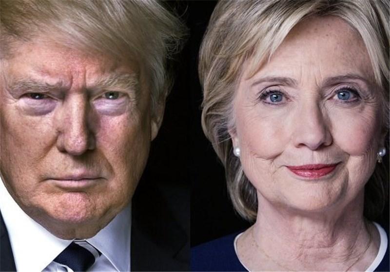 جدیدترین نظرسنجیها از انتخابات آمریکا/ افزایش محبوبیت کلینتون در ایالتهای یازدهگانه «خاکستری»