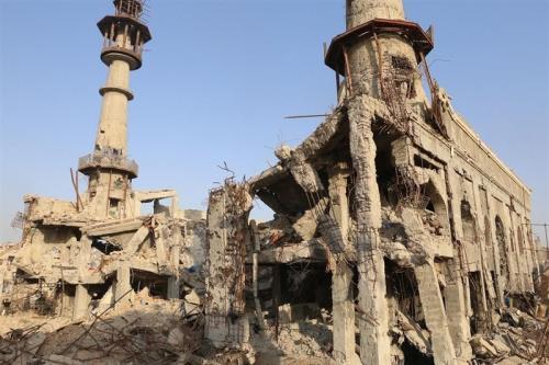عکس: حرم حضرت «سکینه»(س) بعد از آزادسازی داریا