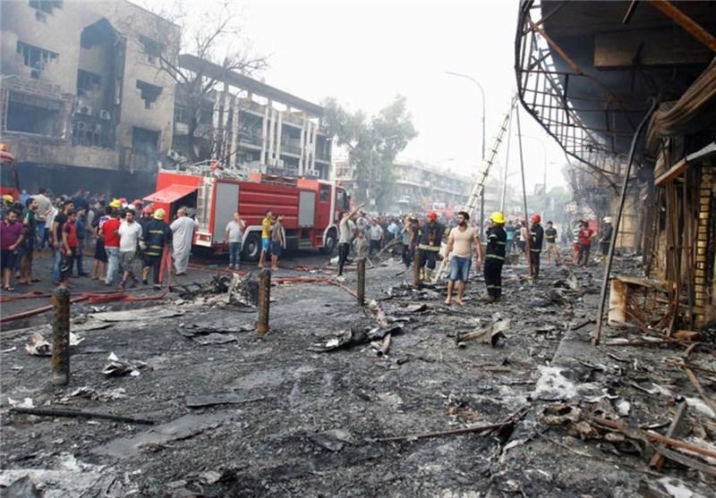 انفجار در مرکز بغداد/ ۹ نفر کشته و ۳۴ نفر زخمی شدند