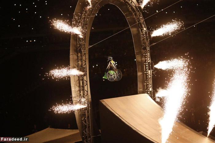 (تصاویر) مراسم افتتاحیه پارالمپیک ریو