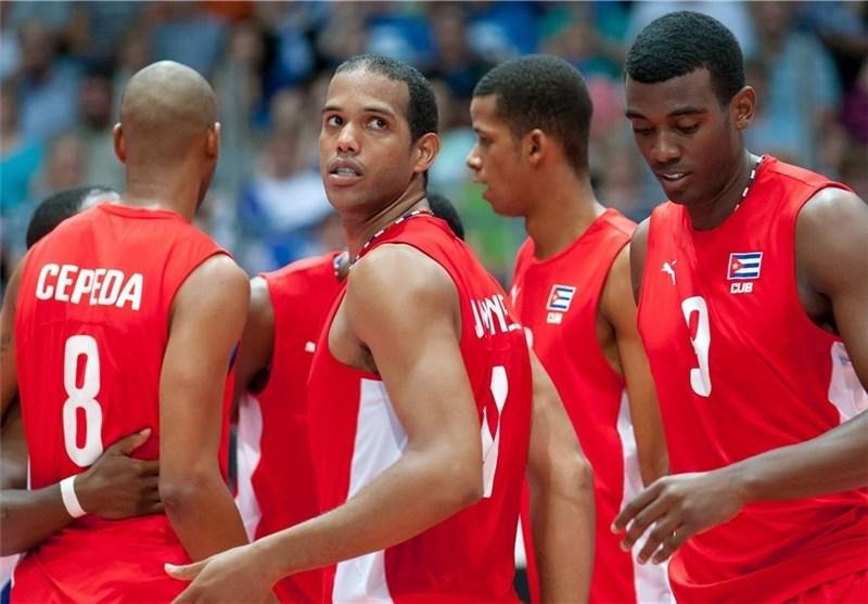 والیبالیستهای کوبایی محروم شدند