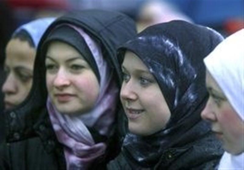 حمله به یک زن مسلمان در لندن