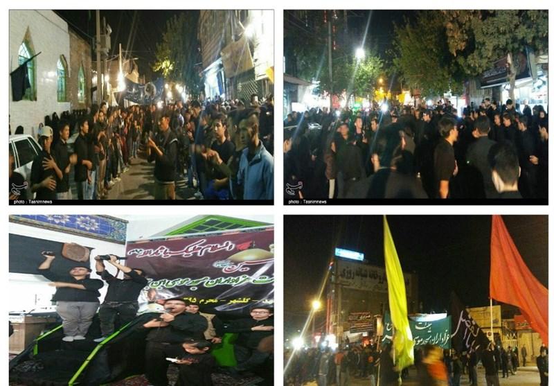 مهاجرین افغانستانی مشهد و برگزاری مراسم «عَلَمکشی» در شب هفتم محرم + تصاویر