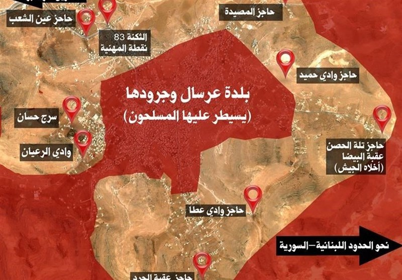 منبع امنیتی لبنان: نبرد دوم عرسال نزدیک است