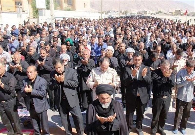 اقامه باشکوه نماز جماعت ظهر عاشورا در ایران