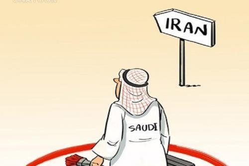 کاریکاتور: عربستان سعودی سفر شهروندان خود به ایران را ممنوع کرد!