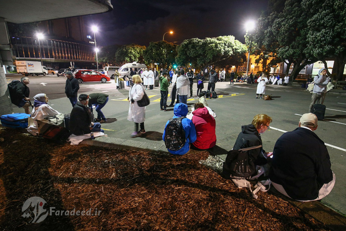 (تصاویر) خسارتهای زلزله مهیب در نیوزلند