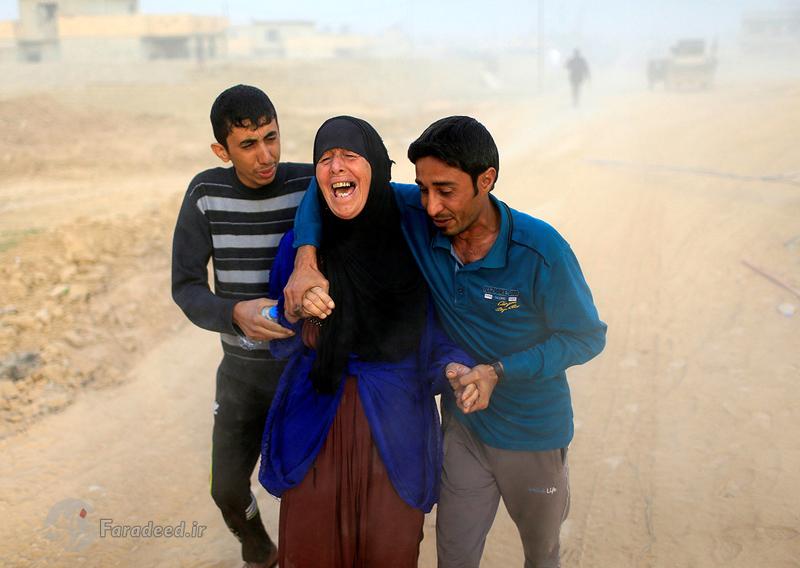 تصاویر/ صحنههای دراماتیک از نبرد موصل