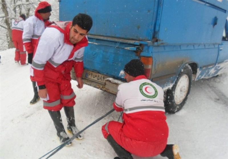یک هفته امدادرسانی در ۱۳ استان/بیشترین عملیات برای«بستن زنجیر چرخ»