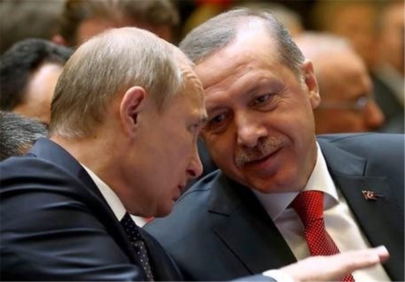 گفتوگوی تلفنی اردوغان و پوتین درباره سوریه