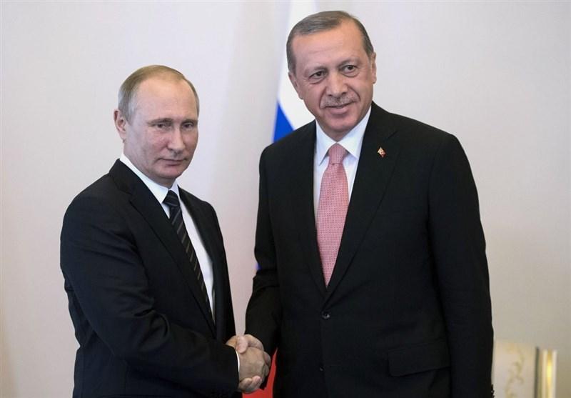 ابراز همدردی پوتین با اردوغان