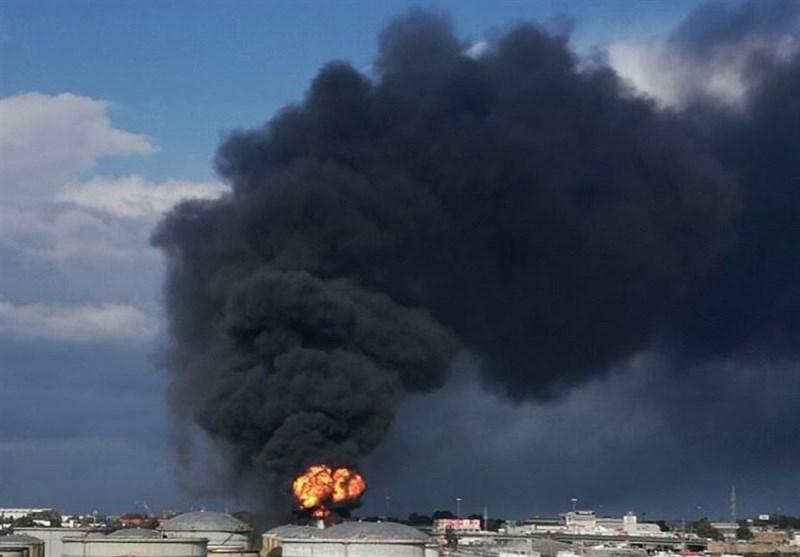 انفجاری عظیم حیفا را لرزاند