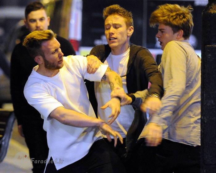 (تصاویر) خوشگذرانی پر دردسر جوانان در انگلیس