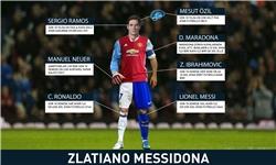 بازیکنی کاملتر از رونالدو، مسی، زلاتان و مارادونا