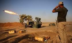 دفع حملات داعش از سوی الحشد الشعبی در صلاحالدین/ کمک شبانه بالگردهای آمریکایی به داعش
