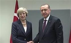 «ترزا می» در آنکارا با رجب طیب اردوغان دیدار کرد